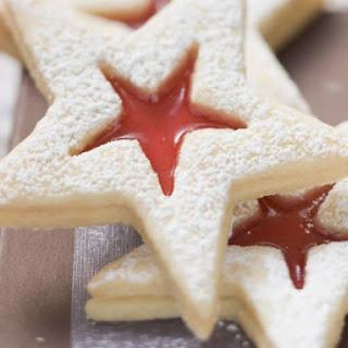 Jam Centre Star Cookies