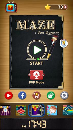 Maze : Pen Runner 1.1.5 gameplay | by HackJr.Pw 17