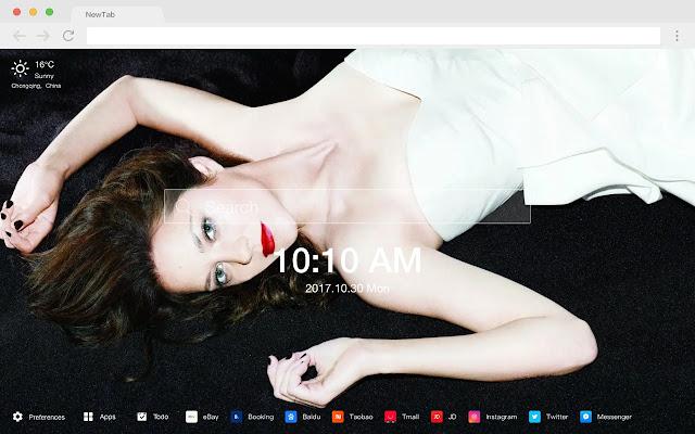 Marion Cotillard Hot Stars New Tabs HD Themes
