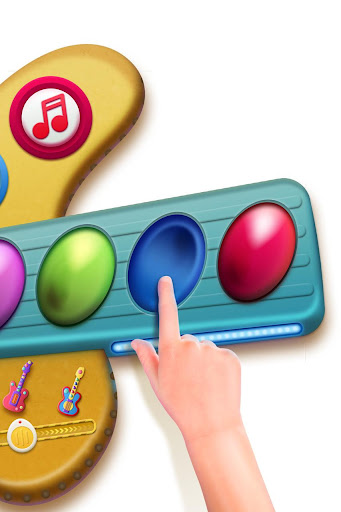 Toy Guitar with songs for kids Screenshot