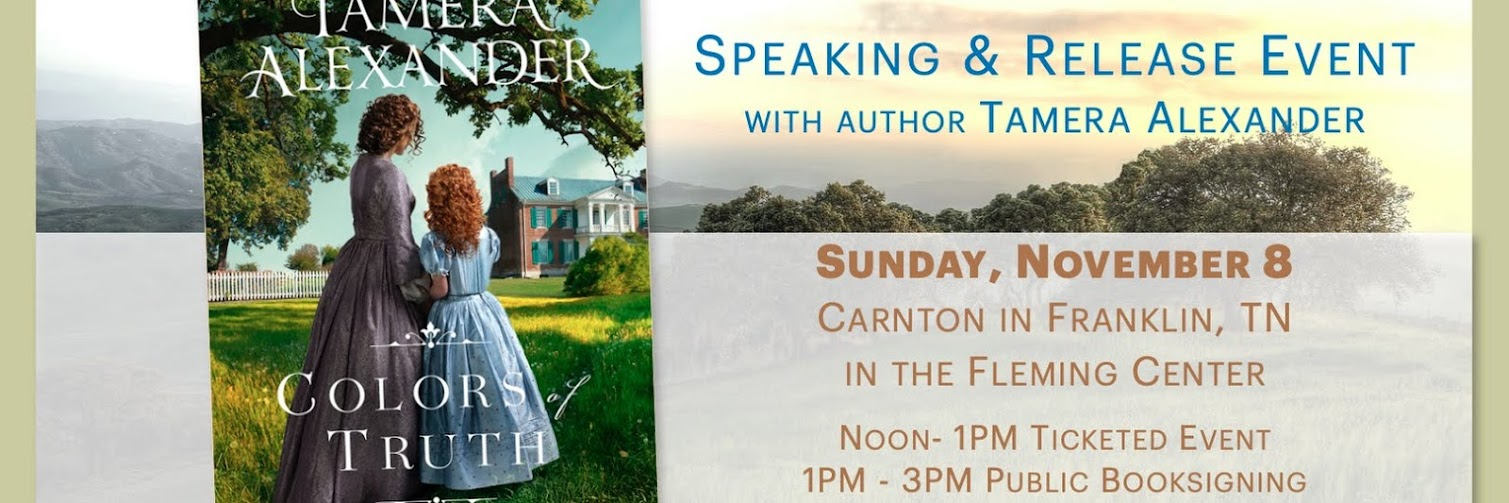 COLORS OF TRUTH Release Event/Booksigning - CARNTON in Franklin, TN