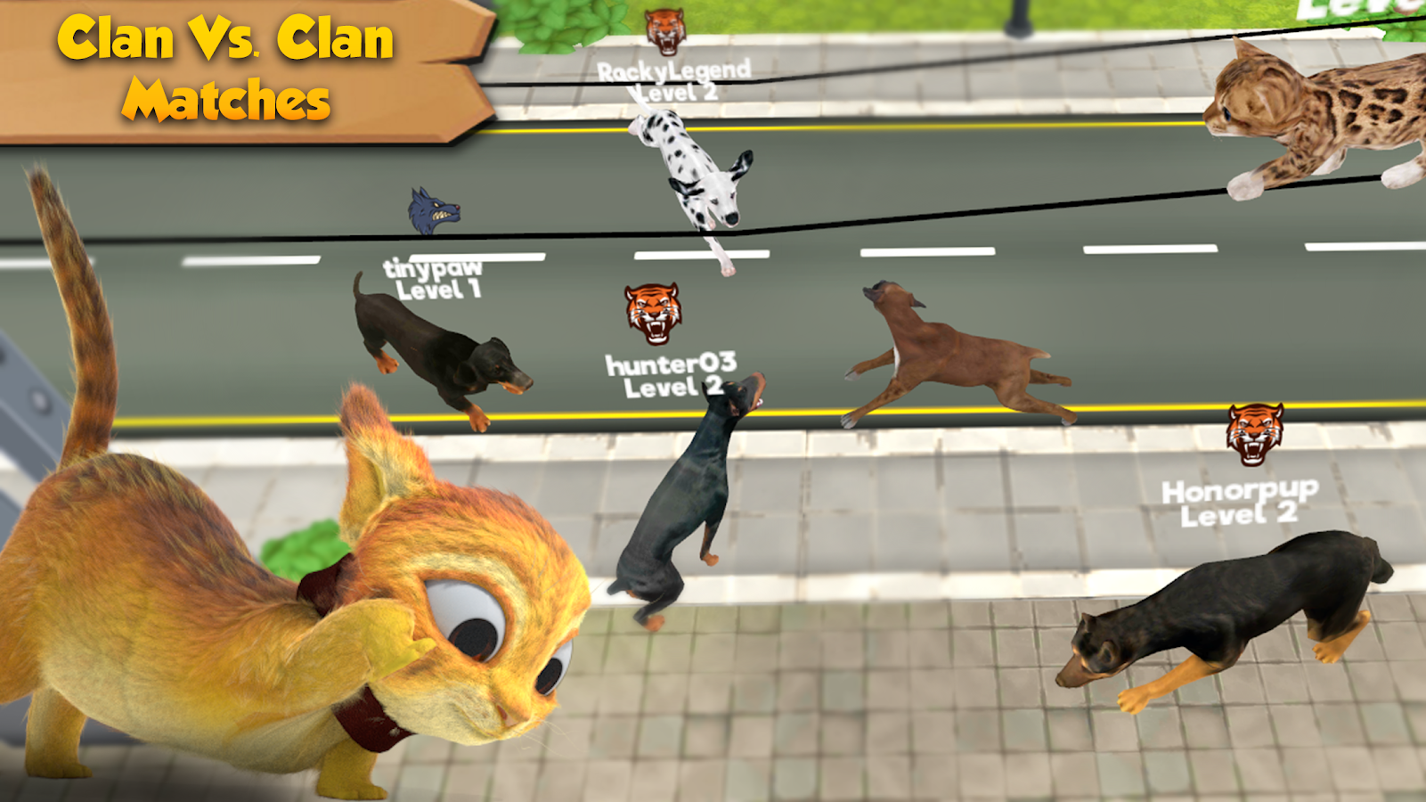 Cat & Dog Online: Pet Animals- screenshot
