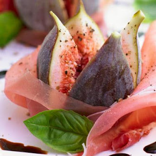 Parma Ham with Figs.