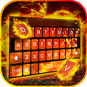 Flames 3D Live Keyboard Background icon