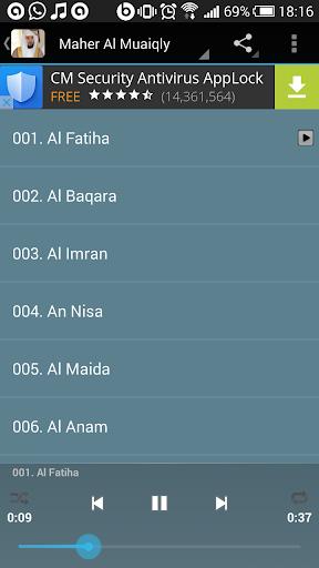 Sheik Maher MP3 Quran