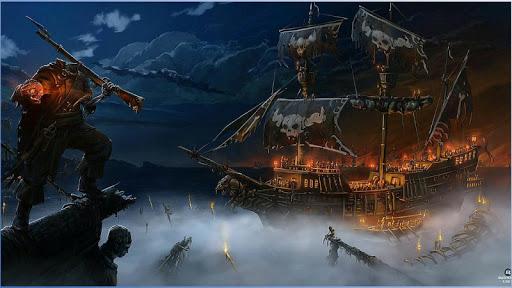 幻想海盜壁紙