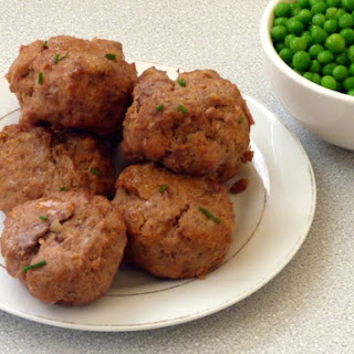 Beef and Cheddar Meatballs Recipe