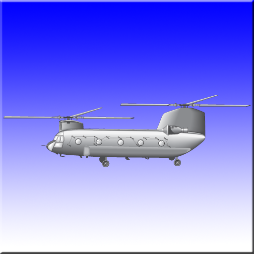 CH-47D Chinook -10 Flash Cards
