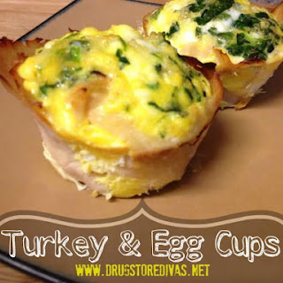 Turkey And Egg Cups