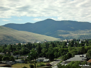 Photo: Missoula, Montana is our first stop, 3 hours later.