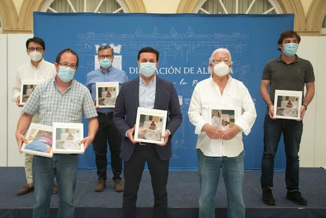 Presentación del libro en Diputación.