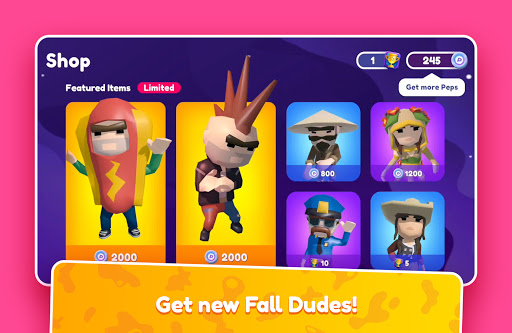 Fall Dudes (Early Access) apktram screenshots 13