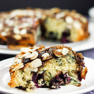 Boysenberry Crunch Coffeecake