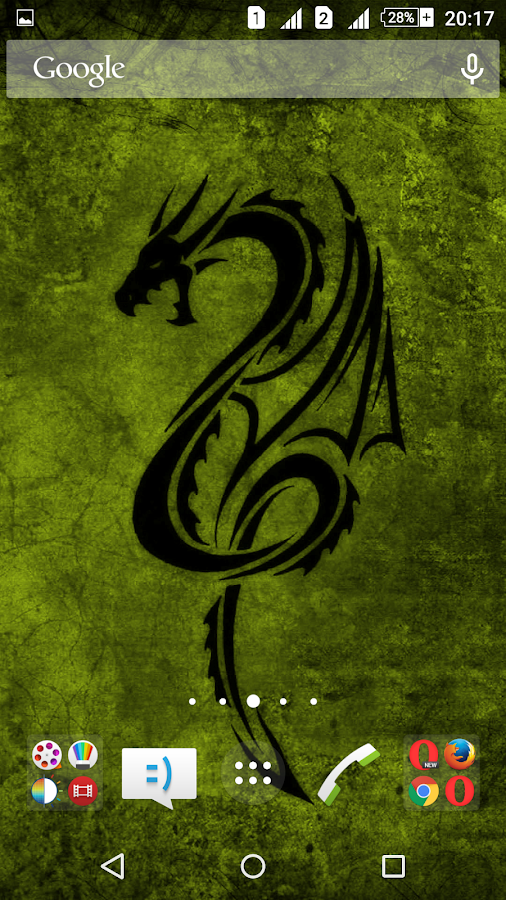dragon animated live wallpaper android apps on google play