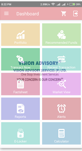 Vision Advisory - náhled
