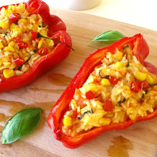Stuffed Red Peppers.