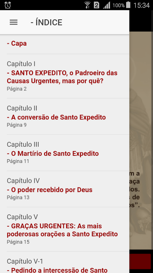 SmartBook Santo Expedito- screenshot