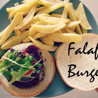 Falafel Burger.