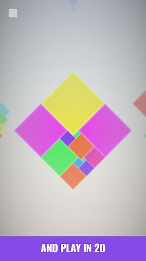 Isometric Squares - puzzle u00b2  screenshots 5