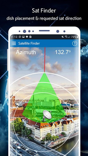 Satellite Finder (Area Calculator) Dish Pointer 1.0.5 Paidproapk.com 1