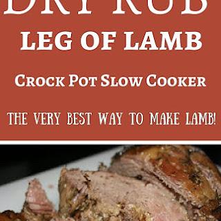 CrockPot Leg of Lamb Recipe