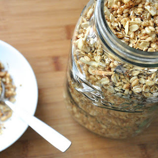 Protein Packed Almond, Honey and Coconut Granola