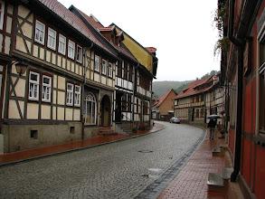 Photo: A tu wciąż leje... Stolberg w Dolnym Harcu