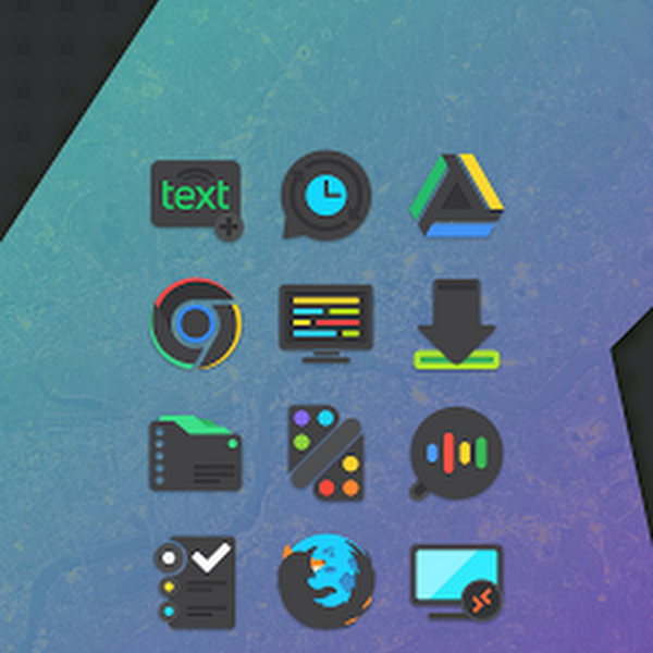 Crispy Dark - Icon Pack v1.0.9
