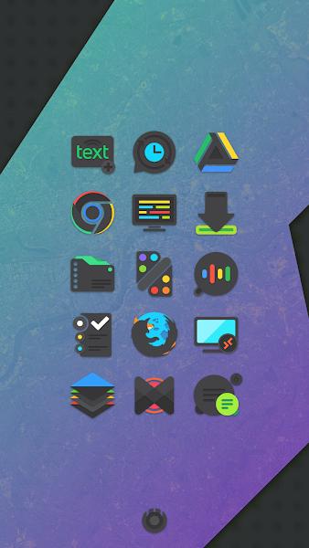 Crispy Dark – Icon Pack v2.9.7 [Paid] 1
