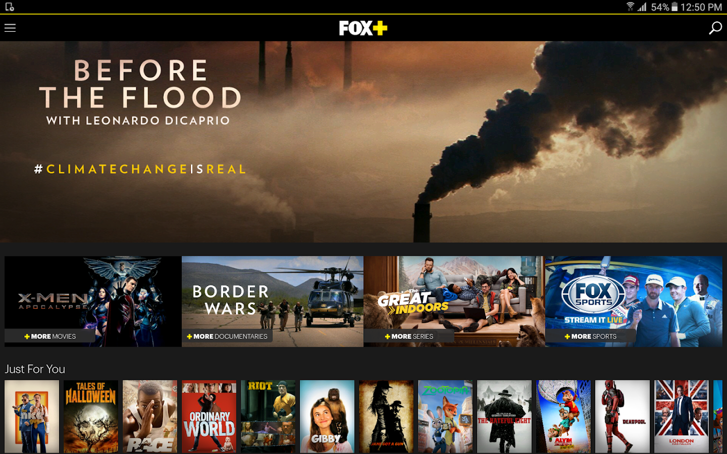 FOX+- screenshot