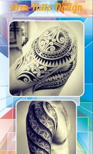 Rameno tetování design - náhled
