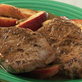 Easy Apple Sage Pork Chops