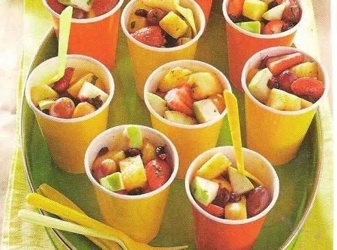 Light&breezy Fruit Salad W/honey Mango Vinaigrette