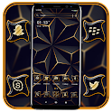 3D Triangle Black Launcher Theme icon