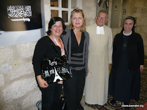 Photo: Au centre culturel français à Jérusalem Est