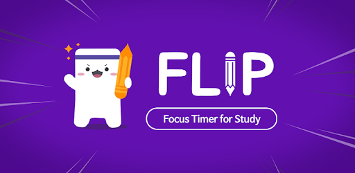 Flip your phone over to measure your study time!<br>Need to Focus? Get FLIP now!
