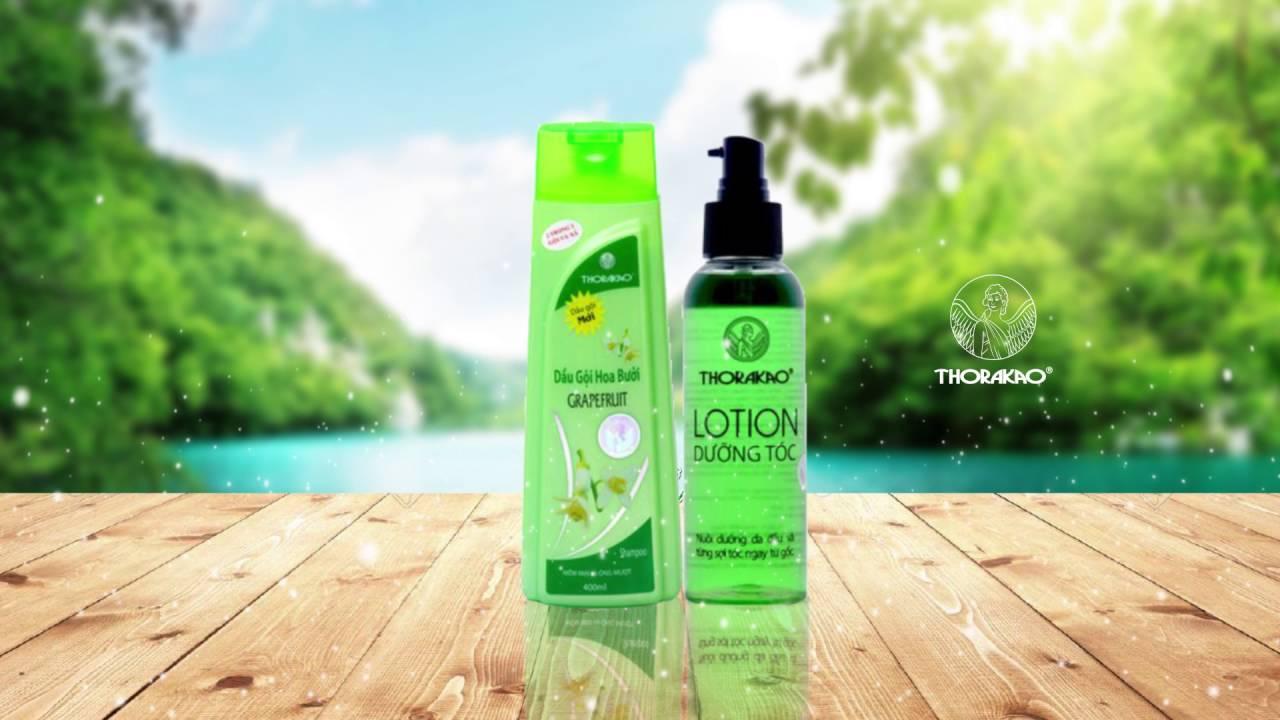 Dầu gội Thorakao có tác dụng giúp giảm rụng tóc một cách hiệu quả nhất