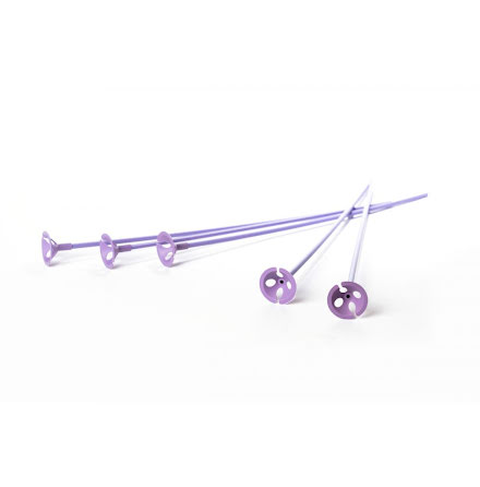 Ballongpinnar 10-pack - lila