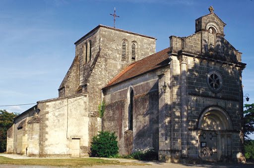 photo de LARUSCADE, église Saint Exupère