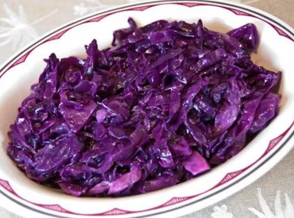 Lisa's Fried Red Cabbage With Bacon Recipe