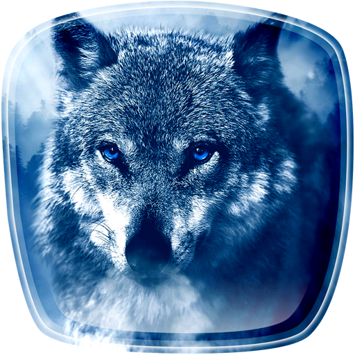 Ice Wolf Live Wallpaper