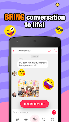 JusTalk Kids - Safe Video Chat and Messenger android2mod screenshots 3