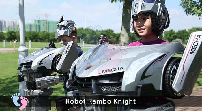 Siêu phẩm Robot Rambo Knight Cho bé 4
