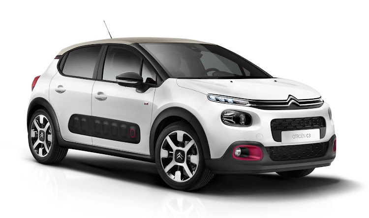 The new facelifted Citroën C3.