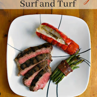 Simple Surf and Turf.