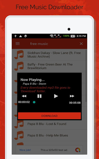 Free Music Downloader - Mp3 Download  screenshots 7