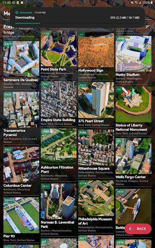 Metropolis 3D City Live Wallpaper [FREE] 🏙️ screenshot 16