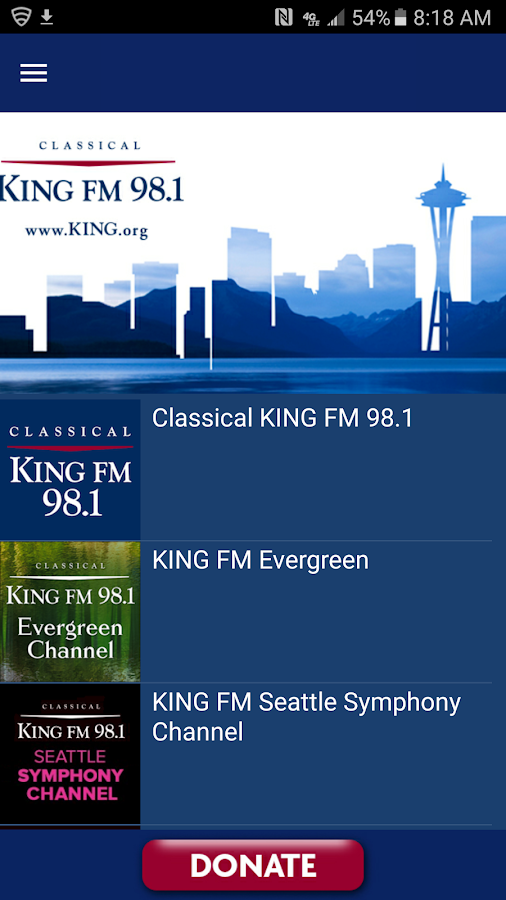 Classical KING FM- screenshot