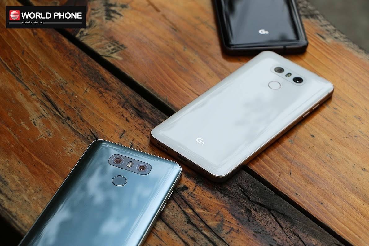 Thiết kế nguyên khối và màn hình ấn tượng của LG G6