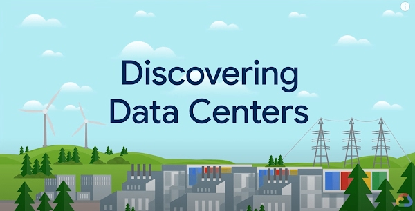 Discovering Data Centers animated video series explains innovation behind Google data centers.